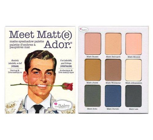 theBalm Meet Matt(e) Ador - Oogschaduw Palette