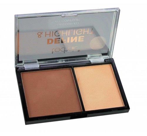 Technic Define & Highlight Contour Kit - Mocha