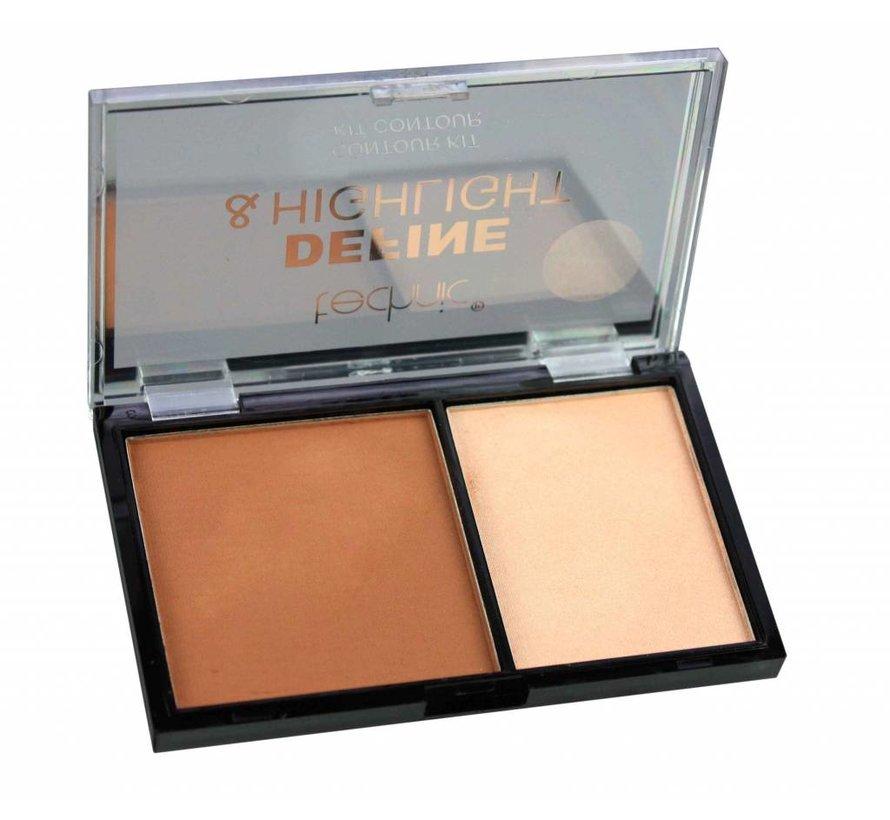 Define & Highlight Contour Kit - Caramel
