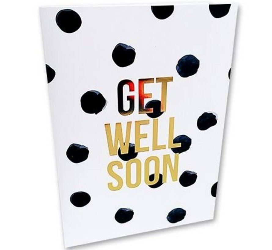 Greeting Card Get Well Soon