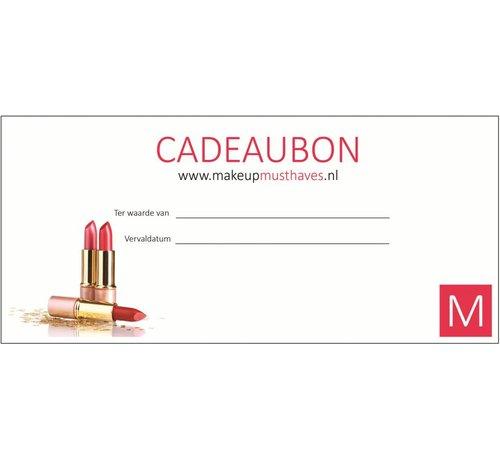 Cadeaubon Make-Up Musthaves