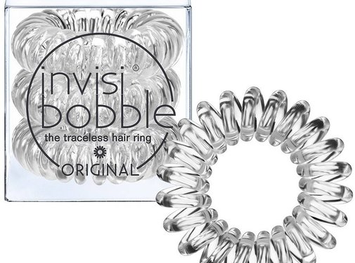 Invisibobble - Crystal Clear 3 Pack