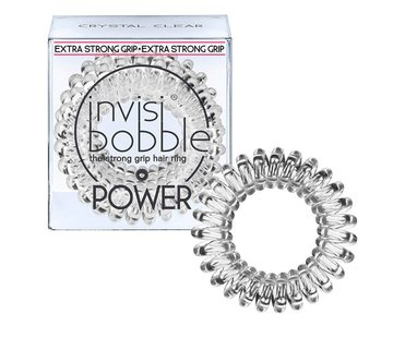 Invisibobble - Power Crystal Clear 3 Pack