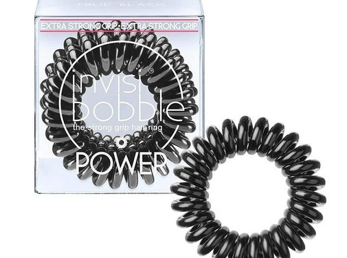 Invisibobble - Power True Black 3 Pack