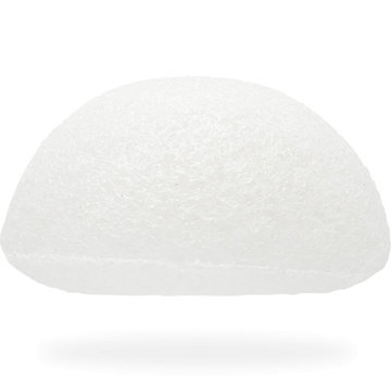 The Konjac Sponge Facial Puff Pure White