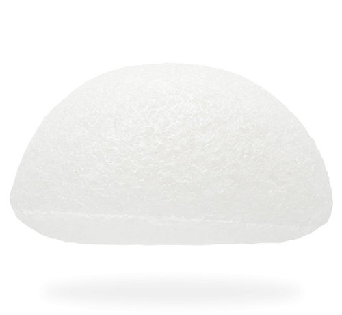 The Konjac Sponge Facial Puff Pure White