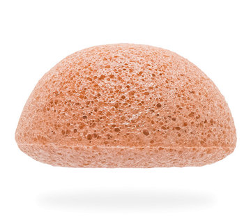 The Konjac Sponge Facial Puff Pink Clay