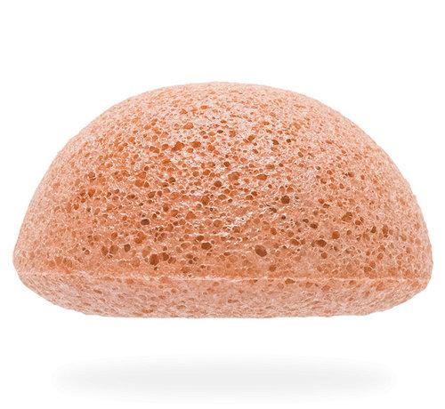 The Konjac Sponge Facial Puff Pink Clay