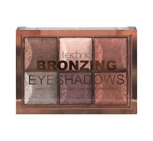 Technic Bronzing Baked Eyeshadows - Palette