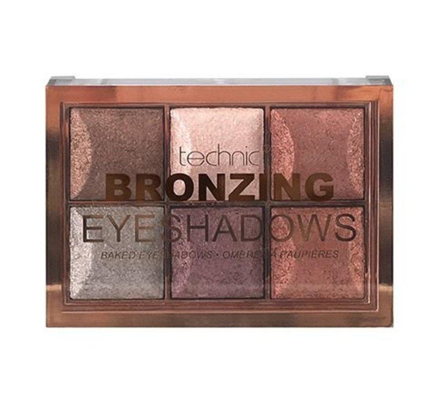 Bronzing Baked Eyeshadows - Palette