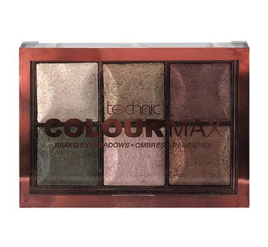 Colourmax Baked Eyeshadows Cappuccino