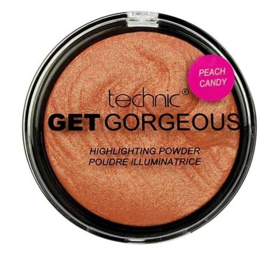 Get Gorgeous Highlighter - Peach Candy