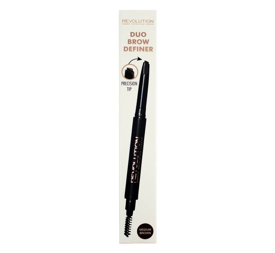Duo Brow Pencil - Medium Brown