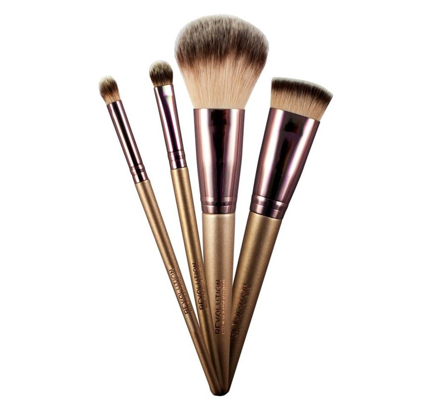 Champagne Brushes & Holder