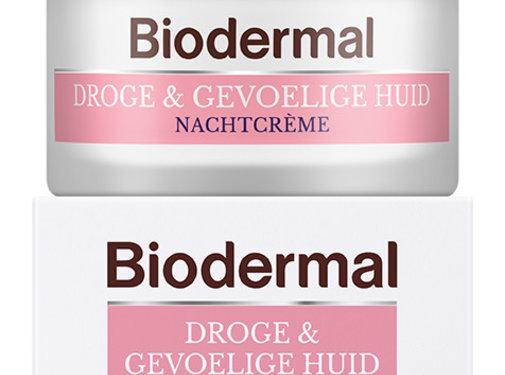 Biodermal Droge & Gevoelige Huid Nachtcreme