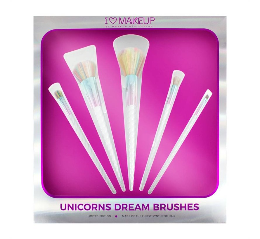 I Heart Makeup Unicorns Dream Brush Set