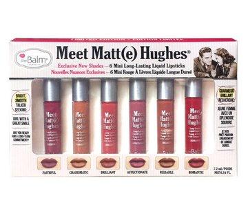 theBalm Meet Matt(e) Hughes Mini Liquid Lipsticks Set - Vol. 2