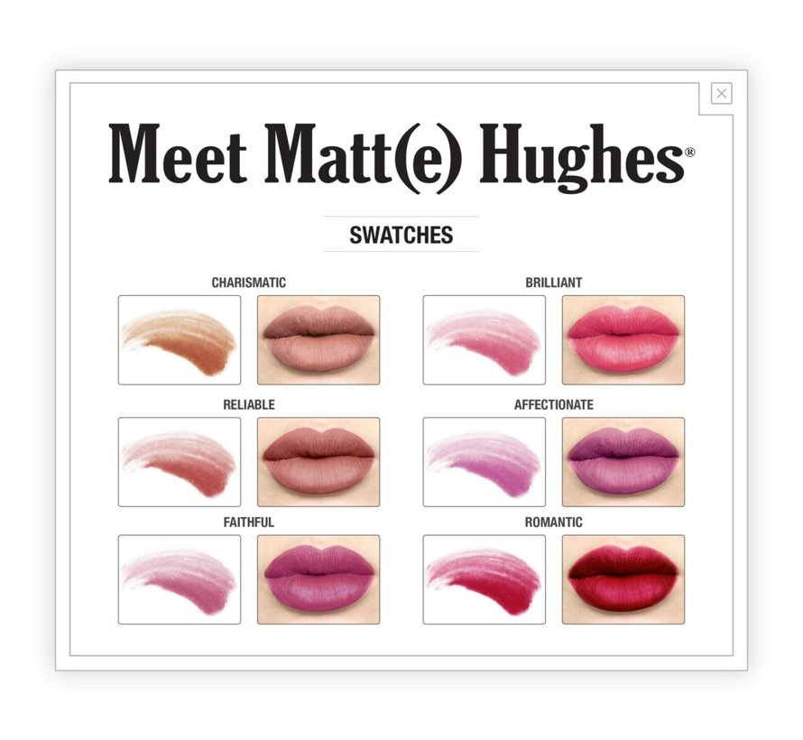 Meet Matt(e) Hughes Mini Liquid Lipsticks Set - Vol. 2