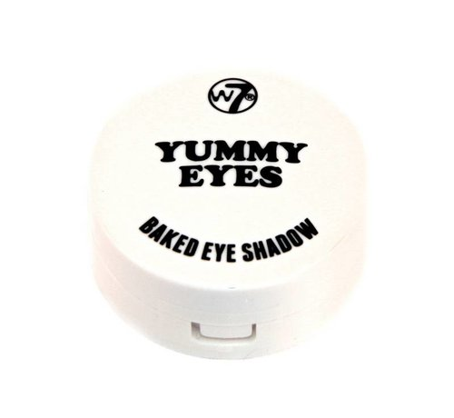 W7 Make-Up Yummy Baked Eye Shadow - White - Oogschaduw