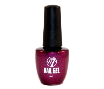 W7 Make-Up Gel Nagellak - 6 Purple Sparks