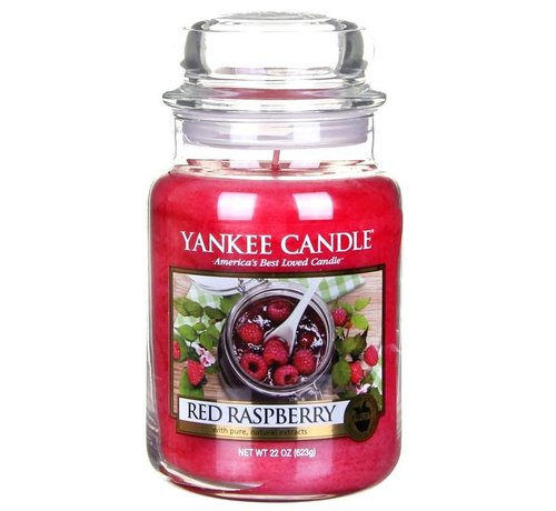 Yankee Candle Red Raspberry - Large Jar