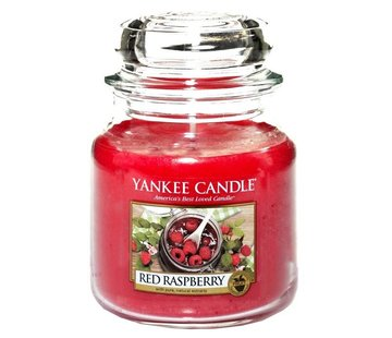 Yankee Candle Red Raspberry - Medium Jar