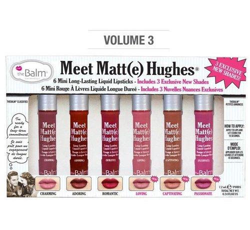 theBalm Meet Matt(e) Hughes Mini Liquid Lipsticks Set - Vol. 3