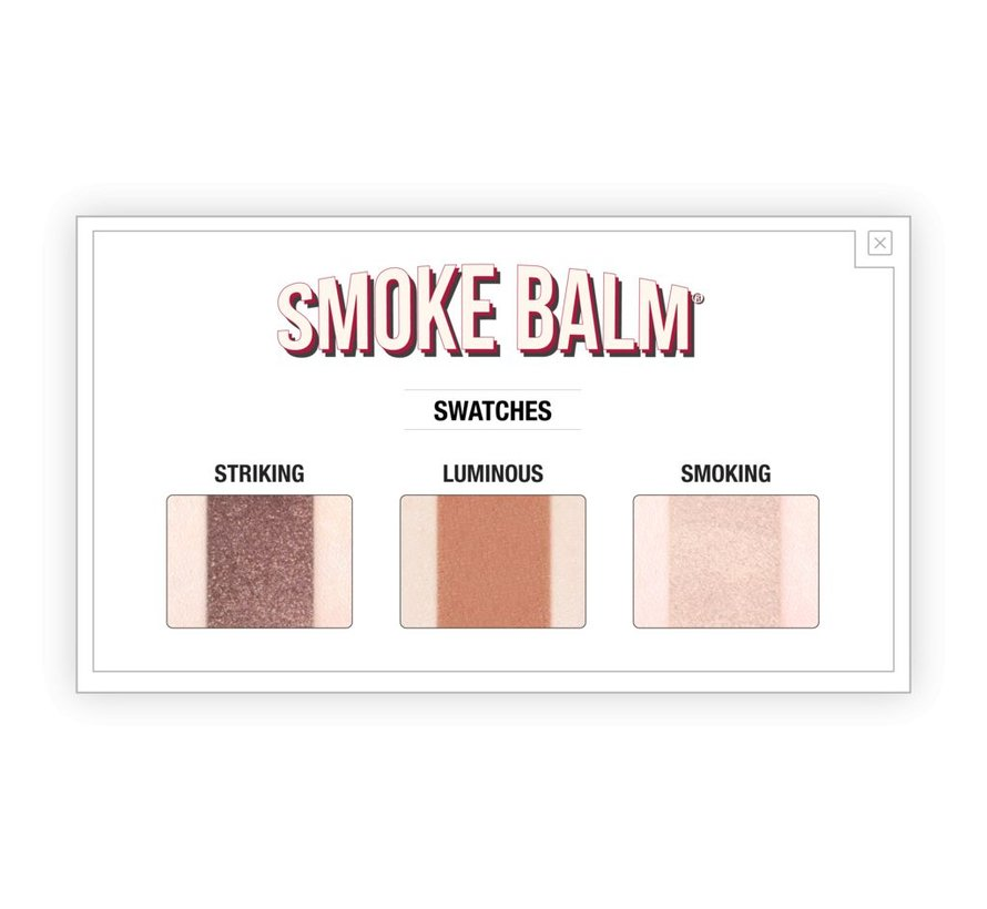 Smoke Balm Vol. 4 - Smokey Eye Palette