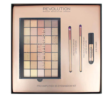 Makeup Revolution Amplified 35 Eyeshadow Palette Naked Golds