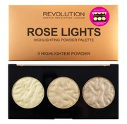 Makeup Revolution Rose Lights Highlighter Palette