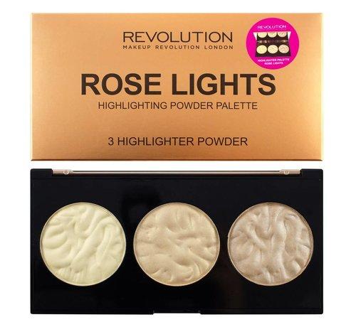 Makeup Revolution Rose Lights Highlighter Palette - Highlighter