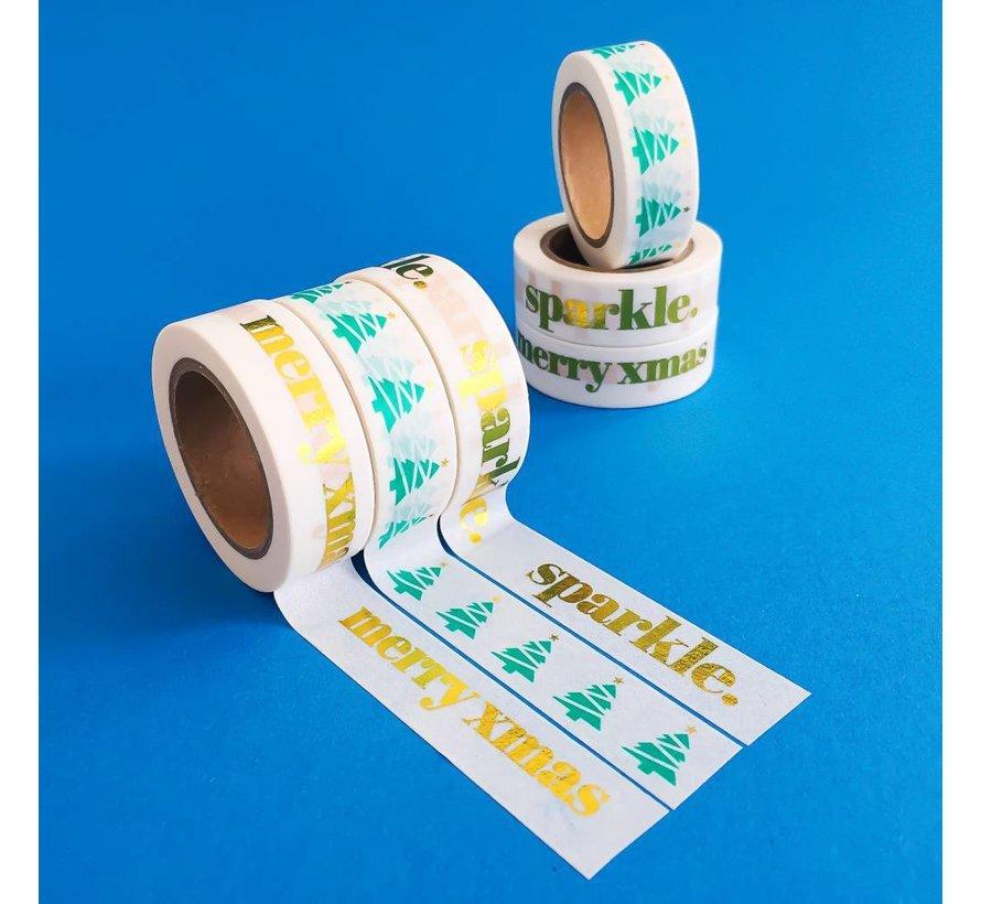 Stationery Masking Tape - XMAS Tree