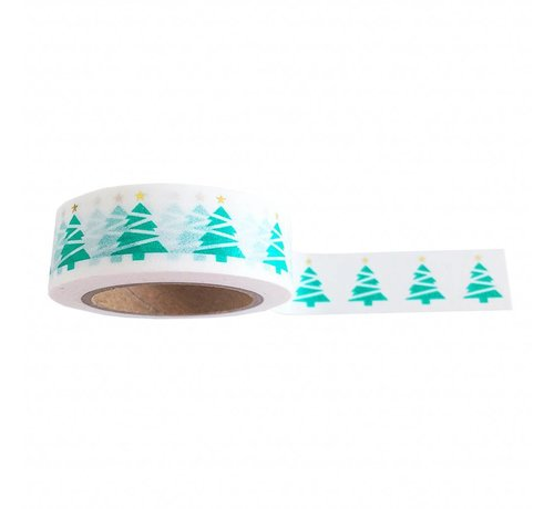 Studio Stationery Masking Tape - XMAS Tree