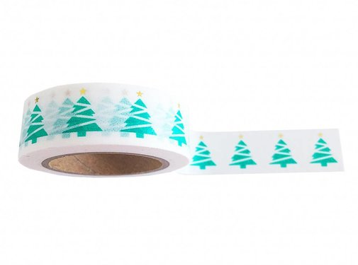 Studio Stationery Masking Tape - XMAS Tree