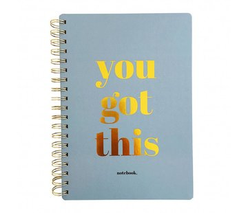 Studio Stationery Notebook You Got This
