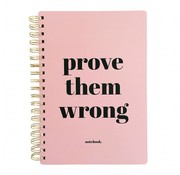 Studio Stationery Notebook Prove Them Wrong