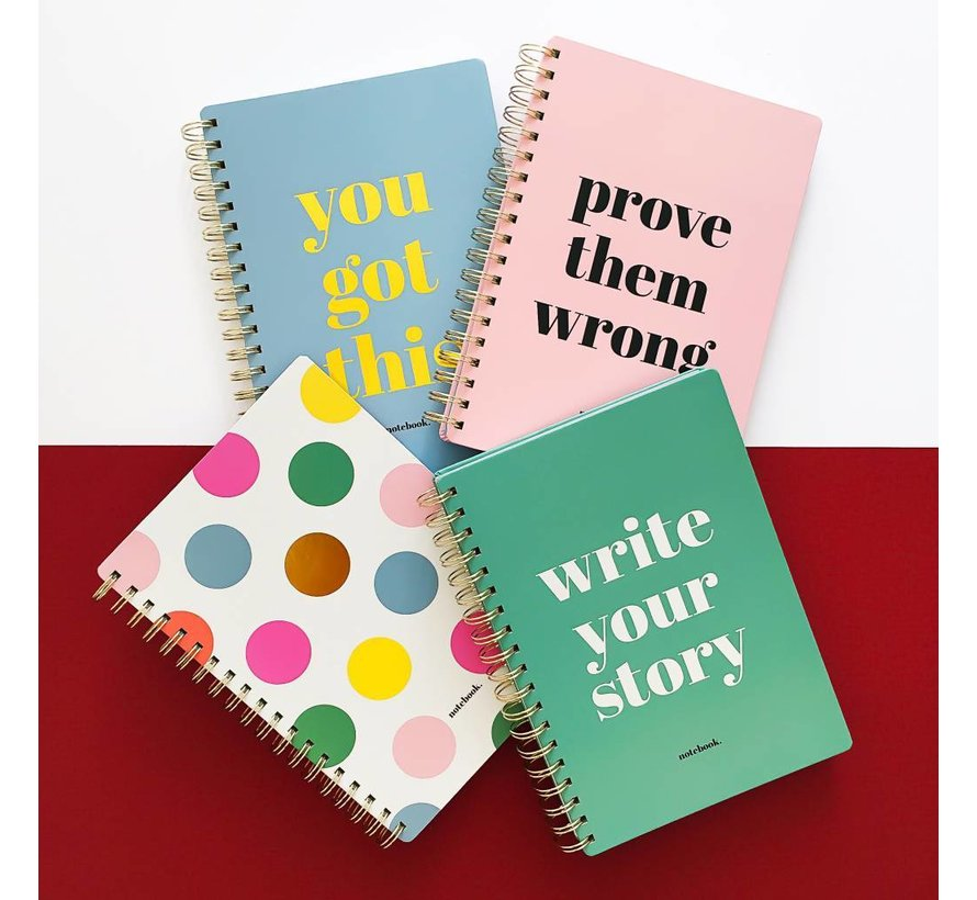 Stationery Notebook You Got This
