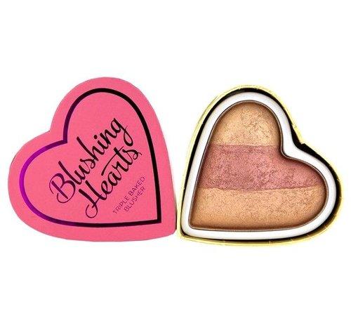 Makeup Revolution Hearts Blusher - Peachy Keen Heart - Blush