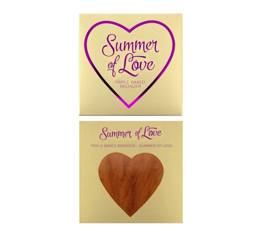 Hearts Bronzer - Love Hot Summer - Bronzer