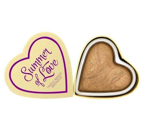 I Heart Revolution Hearts Bronzer - Summer of Love - Bronzer