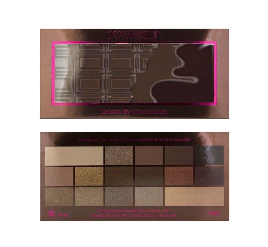 Chocolate Palette - Death By Chocolate - Oogschaduw