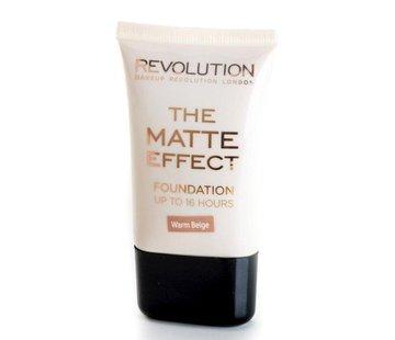 Makeup Revolution Matte Foundation - Warm Beige