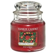 Yankee Candle Red Apple Wreath - Medium Jar