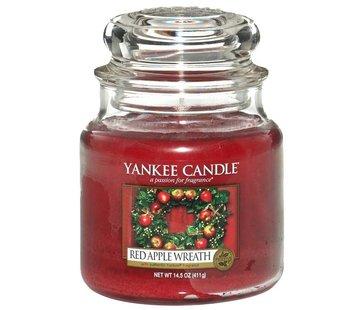 Yankee Candle Red Apple Wreath - Medium Jar