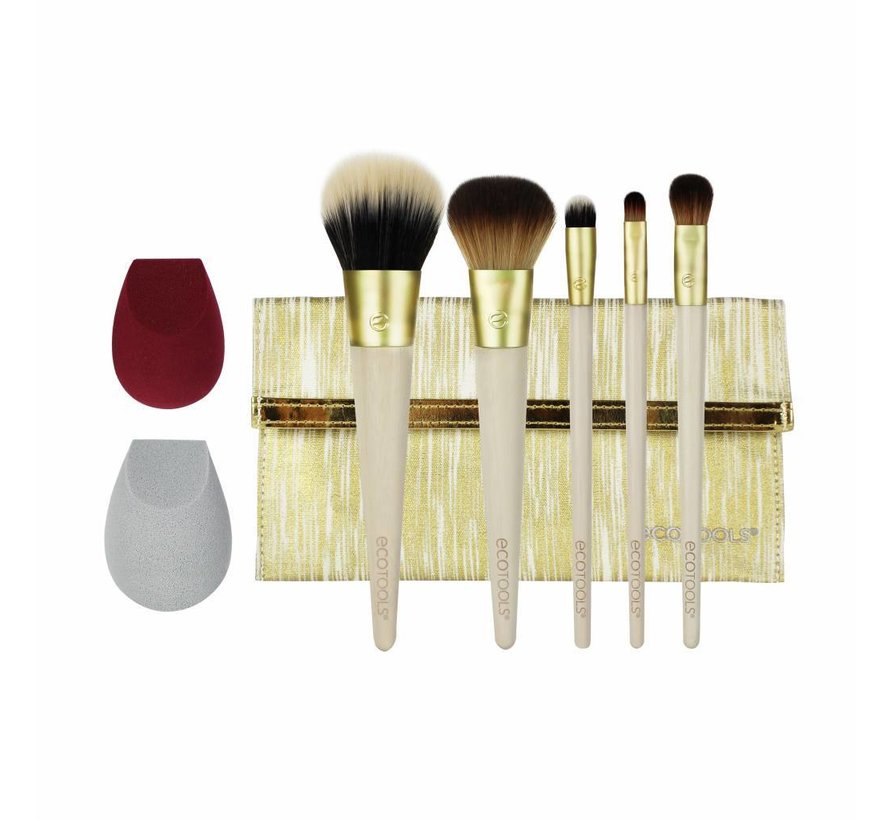 Beautifully Bronzed Brush Set