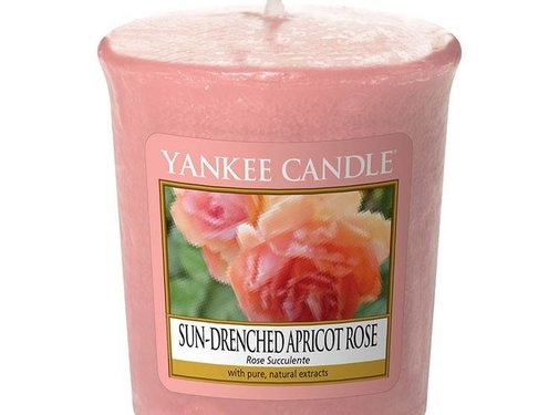 Yankee Candle Sun-Drenched Apricot Rose - Votive