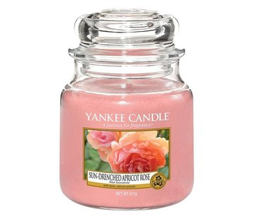 Yankee Candle Sun-Drenched Apricot Rose - Medium Jar