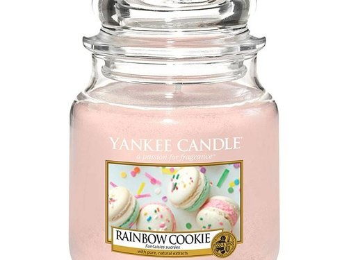 Yankee Candle Rainbow Cookie - Medium Jar