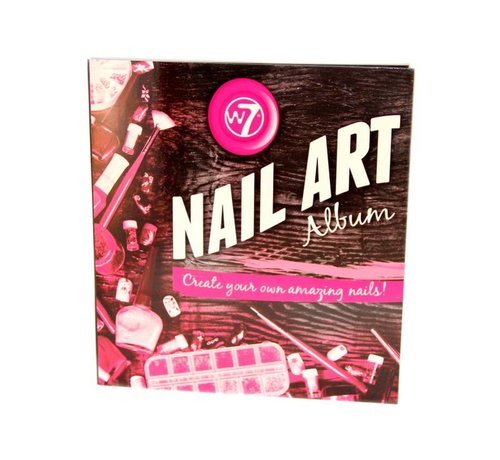 W7 Make-Up Nail Art Album - Nagelset