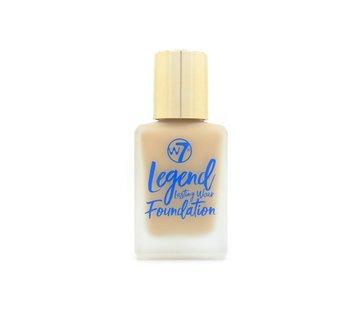 W7 Make-Up Legend Foundation - Sand Beige